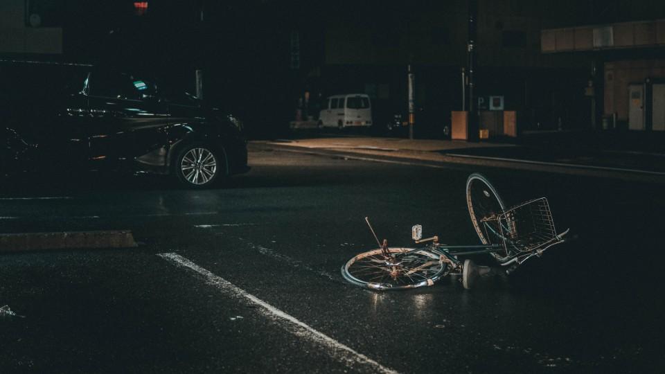 תאונה בין רכב לאופניים